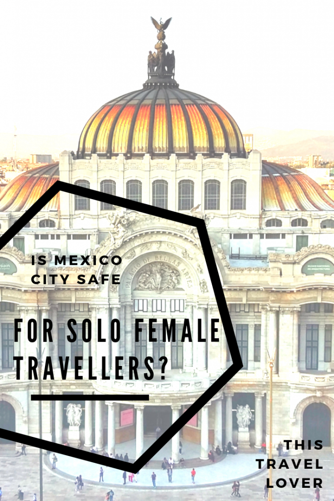 Solo travel anywhere can be daunting, but with Mexico's reputation, a lot of people have asked me if Mexico solo travel is safe, in particular in Mexico City.  This huge, hectic behemoth certainly sounds scary, but solo travel in Mexico City can be an incredible experience.  I spent four months in Mexico City as a solo female traveller, so got to know the city and fell in love with the people, food and culture here.  I'll give you the truth about solo travel in Mexico City and answer for once and all if Mexico City is safe for solo female travellers. #CDMX #Mexico #MexicoCity #Femalesolotravel #traveltips #safety