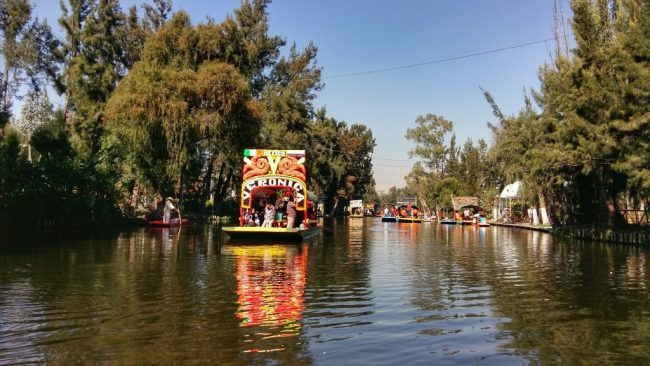 Xochimilco in Mexico City is fine during the day but better visited in a group
