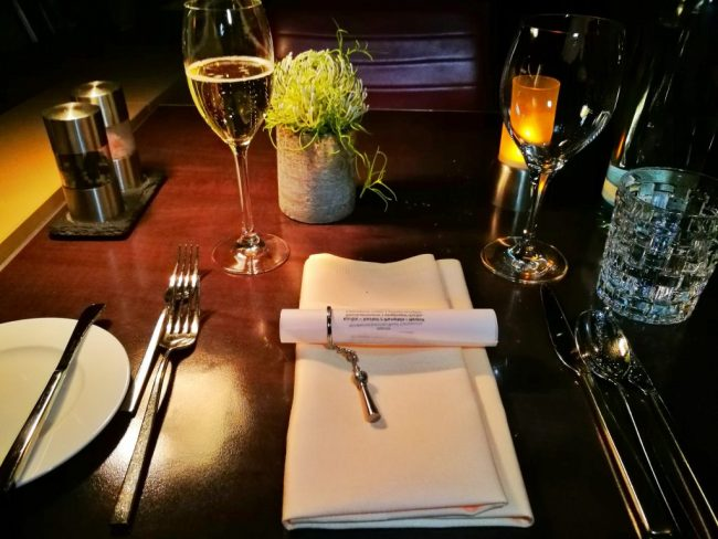 Solo Dining - My Place Setting for Dinner for One