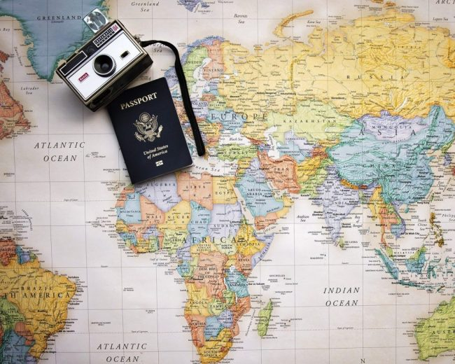 Passport & Map - Travel Planning Tips for Solo Female Travellers