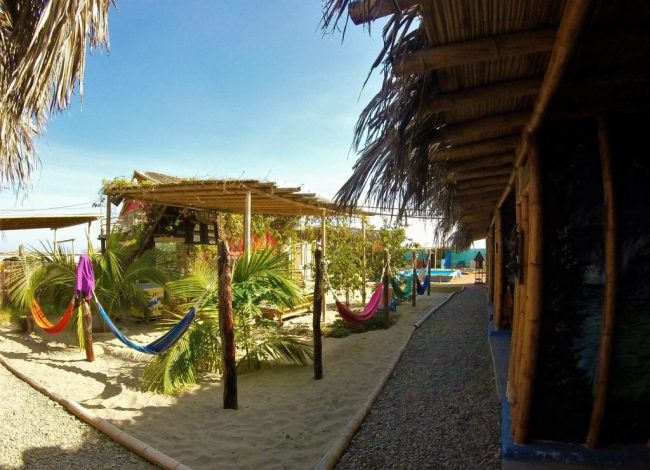 A Surf Hostel in Peru - Female Solo Travel in Peru