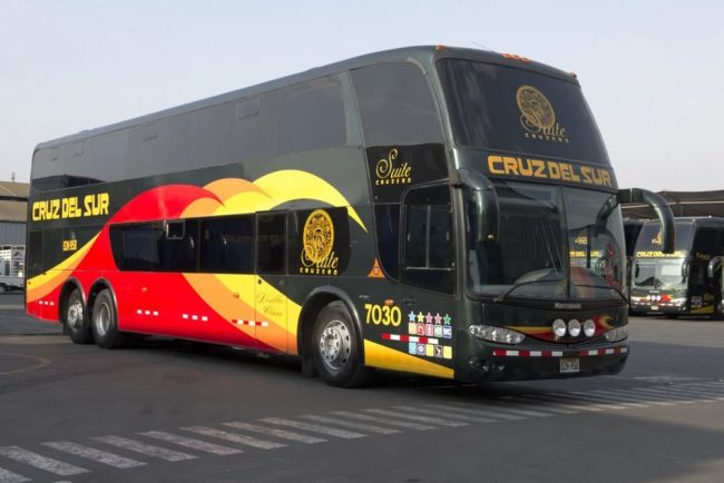Cruz del Sur Bus in Peru - Travelling Peru as a Solo Female Traveller