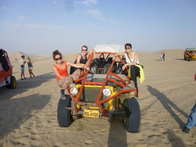 Sand Buggy in Huacachina Peru - Solo Travel in Peru