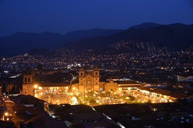 Cusco Peru at Night - Don't walk around alone at night as a solo female traveller in Peru