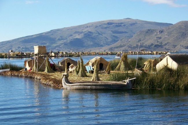 The Uros Reed Islands on Lake Titicaca - Peru Solo Travel Guide