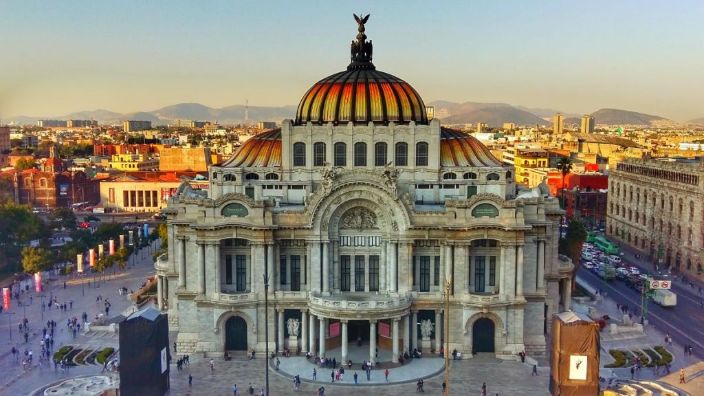 Palacio de Bellas Artes - Is Mexico City Safe for Solo Female Travellers