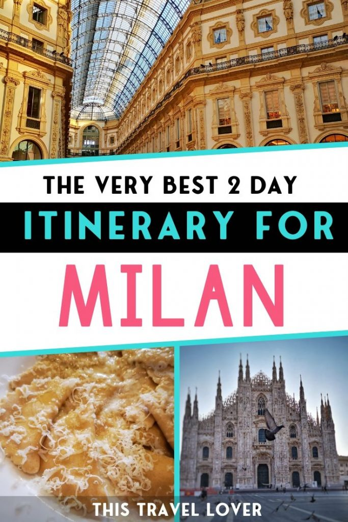 The Best Itinerary for 2 Days in Milan - If you've only got 2 days in Milan to enjoy the city, I've picked out my favourite things to do in Milan so you know exactly what to see in Milan in 2 days!