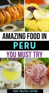 Amazing Food in Peru you Must Try - Peru Food Guide