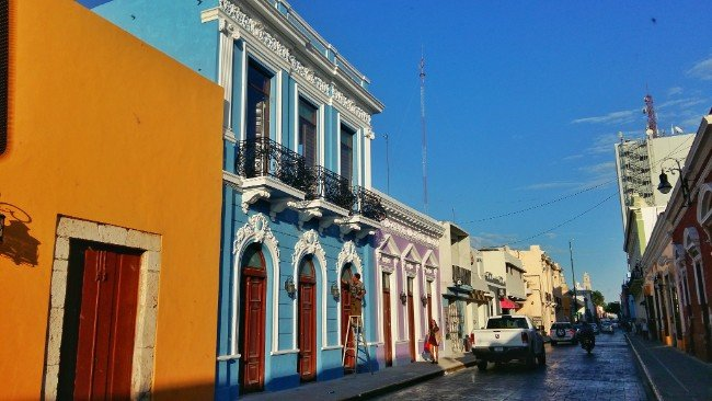 Colourful Streets in Merida