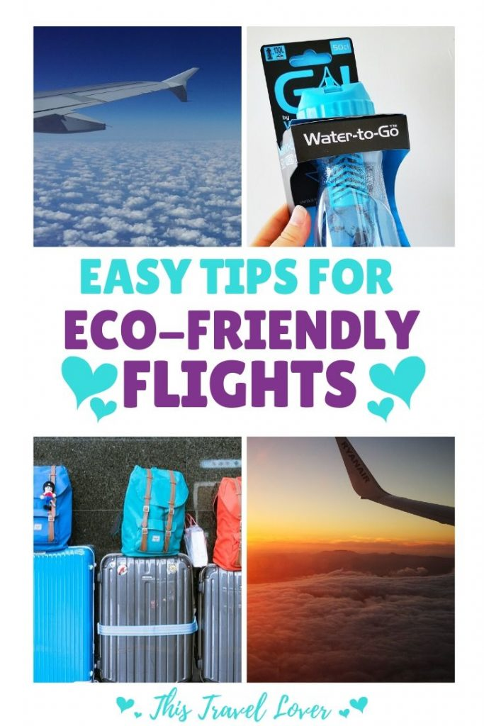 Easy Tips for more Eco-Friendly Flights