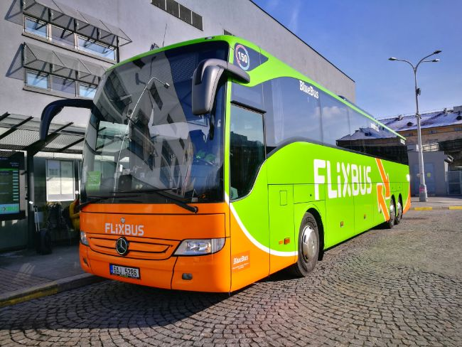 Flix-Bus - Consider taking the bus or train instead of driving or flying