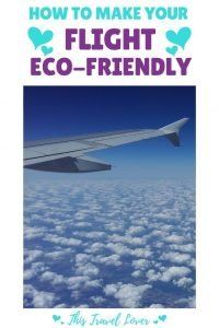 How to Make Your Flight more Eco-Friendly