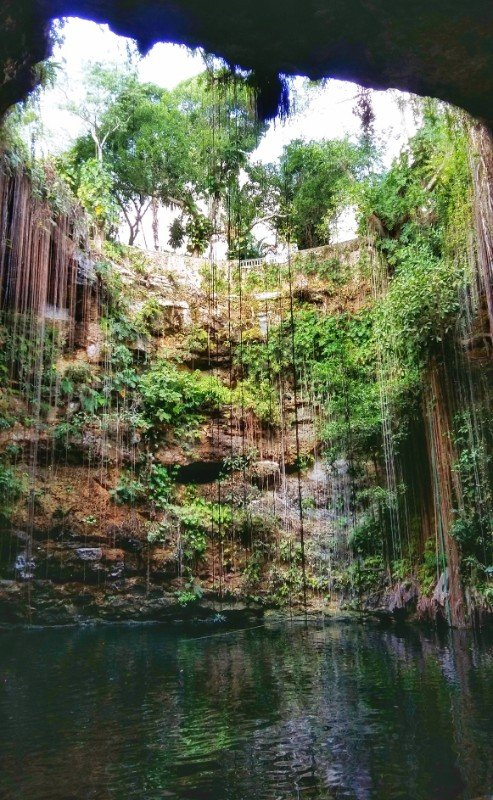 Ik Kil Cenote - Best Visited Early in the Morning