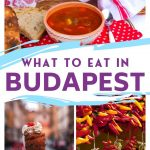 Traditional Hungarian Food in Budapest