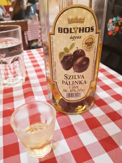 What to Drink in Budapest - Palinka Brandy