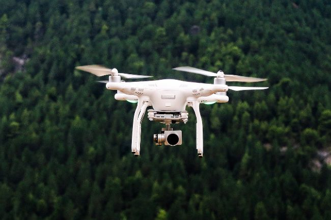 A Drone is an ideal gift for travel lovers who love epic photos