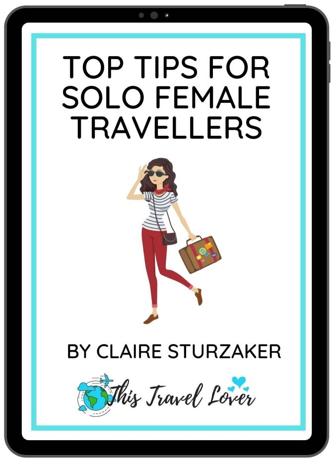Top Tips for Solo Female Travellers eBook Cover